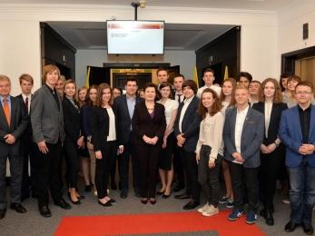 Spotkanie MRW z Panią Prezydent Hanną Gronkiewicz-Waltz