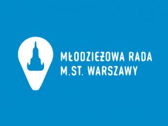 Logo Młodzieżowej Rady m.st. Warszawy